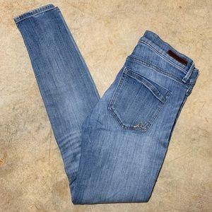 Mid-Rise Jegging Skinny Jean Express Light Wash